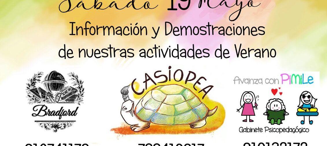 Jornada de puertas abiertas Campamento de Verano en Mayo